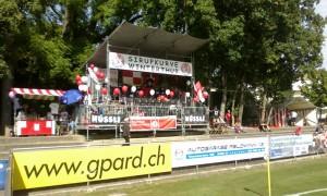 Die Siurupkurve des FC Winterthur