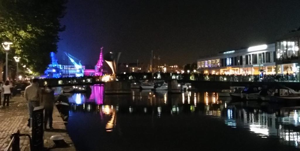 Dancing Cranes in Bristol