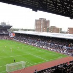 der alte North Stand des Boleyn Ground