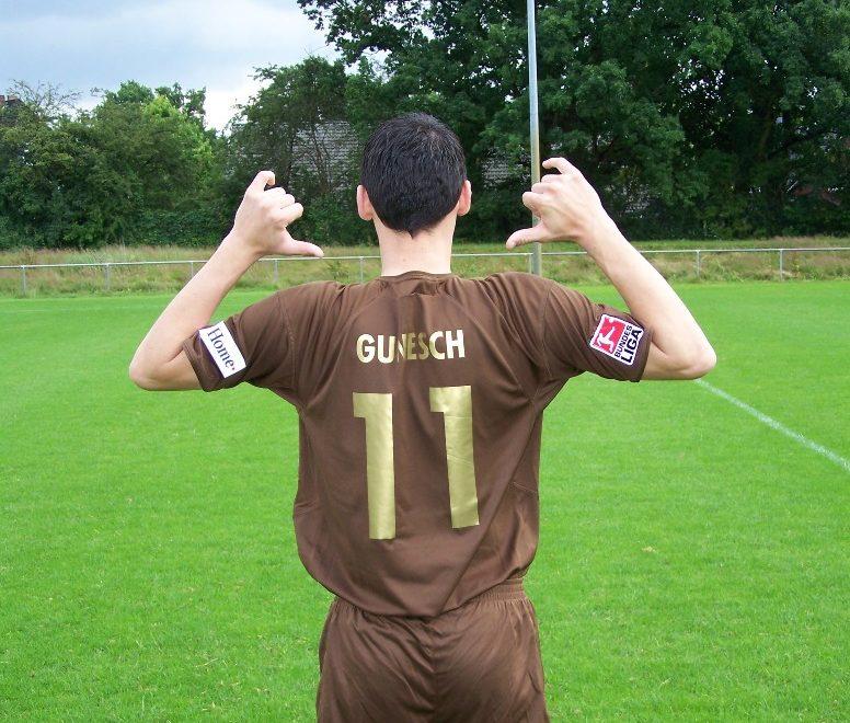 Ralph Gunesch beim Fotoshooting 2007